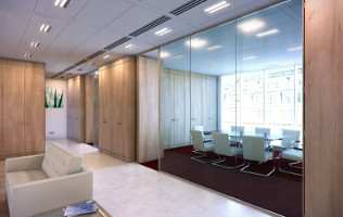 Frameless All Glass Partition